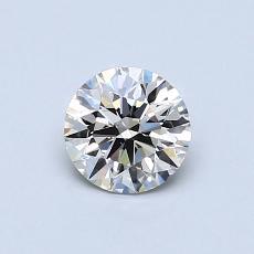 推薦鑽石 #4: 0.60 克拉圓形切割鑽石