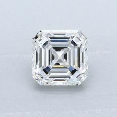 0.75-Carat Asscher Diamond Very Good G VVS1