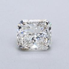 0,72-Carat Radiant Diamond Very Good I VS2