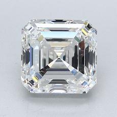 オススメの石No.3:2.43カラットアッシャーカットダイヤモンド