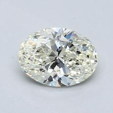 Recommended Stone #4: 0.90-Carat Oval Cut Diamond