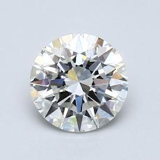 0.90 Carat 圆形 Diamond 理想 I VVS2