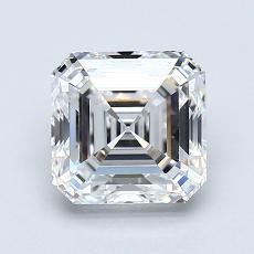 Target Stone: 1.53-Carat Asscher Cut Diamond