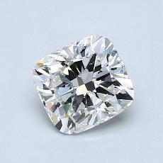 0.90-Carat Cushion Diamond Very Good H VS2