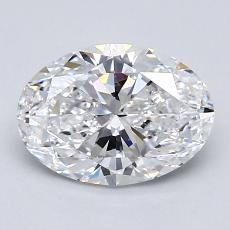 Recommended Stone #4: 1.30-Carat Oval Cut Diamond