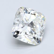 推荐宝石 2:3.08 克拉垫形钻石