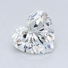 1.01-Carat Heart Diamond Very Good G VS2
