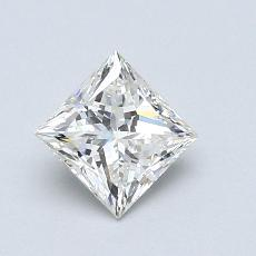 Recommended Stone #4: 0.73-Carat Princess Cut Diamond