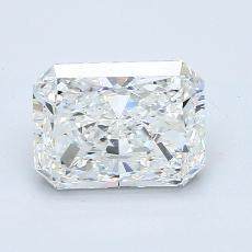 3.02-Carat Radiant Diamond Very Good G SI1