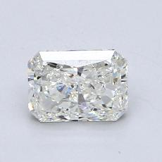 1,00-Carat Radiant Diamond Very Good I SI2