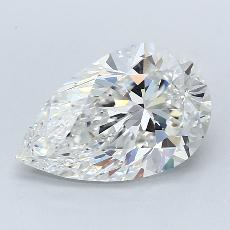 Recommended Stone #3: 2.54-Carat Pear Cut Diamond
