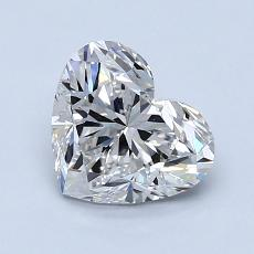 Recommended Stone #4: 1.41-Carat Heart Shaped