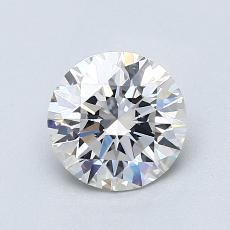 1.06 Carat 圆形 Diamond 理想 F VS1