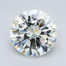 Recommended Stone #3: 4.52-Carat Round Cut