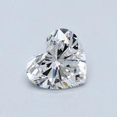 0.51 Carat 心形 Diamond 非常好 D IF