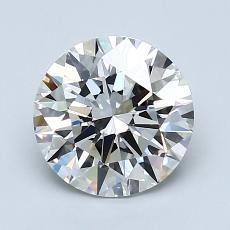 1.54 Carat 圓形 Diamond 理想 G VS1