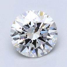推荐宝石 2:1.65克拉圆形切割钻石