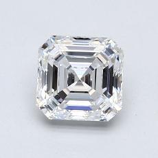 Pierre recommandée n°2: Diamant taille Asscher 1,02 carat