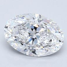 Recommended Stone #2: 1,70-Carat Oval Cut Diamond