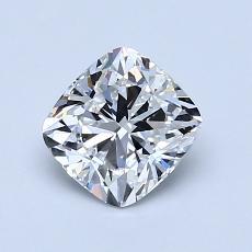 1.01 Carat 垫形 Diamond 非常好 E VS1