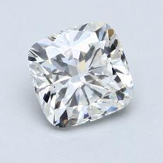2.22-Carat Cushion Diamond Very Good H SI1