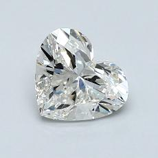 1.00-Carat Heart Diamond Very Good H VS2