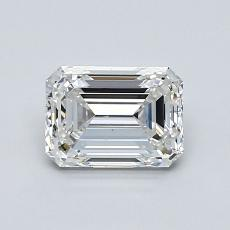 推荐宝石 4:1.01 克拉祖母绿切割钻石
