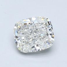 1.02-Carat Cushion Diamond Very Good H VS2