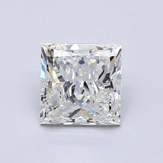 1,00 Carat Princesse Diamond Très bonne I SI1