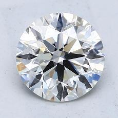 2.05 Carat 圆形 Diamond 理想 I VS2