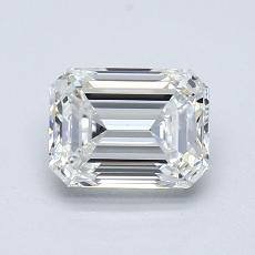 Pierre recommandée n°1: Diamant 0,90carat taille émeraude