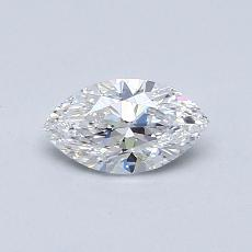 Recommended Stone #3: 0,50-Carat Marquise Cut Diamond