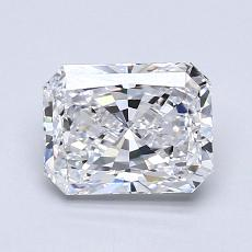 Recommended Stone #2: 1.21-Carat Radiant Cut Diamond