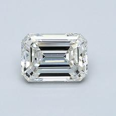 Recommended Stone #1: 0.85-Carat Emerald Cut Diamond