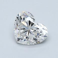 1.01-Carat Heart Diamond Very Good E VS1
