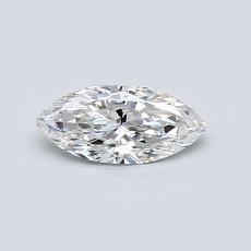 0,31-Carat Marquise Diamond Very Good F VS2