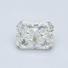 Recommended Stone #2: 0,80-Carat Radiant Cut Diamond