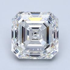Recommended Stone #3: 2.52-Carat Asscher Cut Diamond