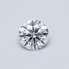 推荐宝石 4:0.42 克拉圆形切割