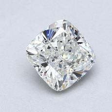 1.01-Carat Cushion Diamond Very Good H VS2
