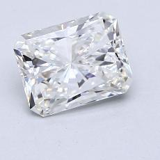 Pierre recommandée n°2: Diamant taille radiant 2,02 carats