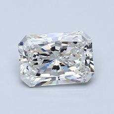 0,90-Carat Radiant Diamond Very Good F VS2