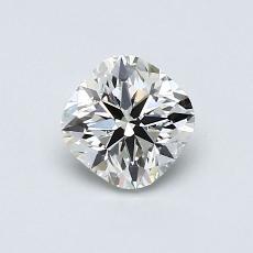 推薦鑽石 #4: 0.70  克拉墊形切割鑽石