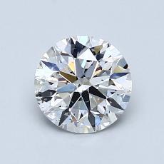 1.04 Carat 圆形 Diamond 理想 D SI2