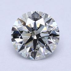 3,02-Carat Round Diamond Ideal F VS2