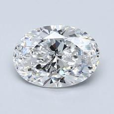 Recommended Stone #1: 1.21-Carat Oval Cut Diamond