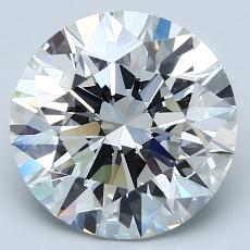 Recommended Stone #2: 3.42-Carat Round Cut Diamond