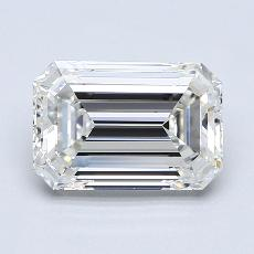 Recommended Stone #4: 2.61-Carat Emerald Cut Diamond