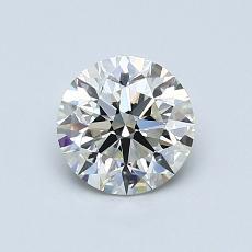 0.81 Carat 圓形 Diamond 理想 J VS1