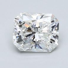 Pierre recommandée n°1: Diamant taille radiant 1,46 carats